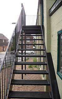 S & A Steel Services Ltd 01 03 Stairs
